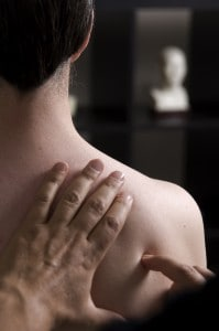 Acupuncture shoulder points